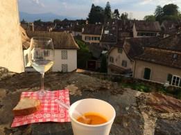 Chateau dAubonne LaColombe concert wine soup_100915