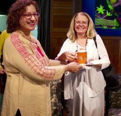 Ellen and Dr. Munazza Yaqoob