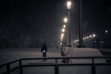 Going the distance in darkness