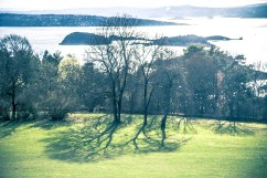 Looking out towards Oslofjord