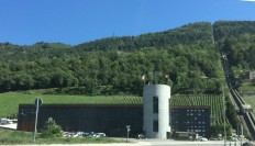"""The Giroud winery spent the summer without a name during the transition to """"Chateau Constellation"""", a name that has prompted more legal issues - by law a winery cannot use the word """"chateau"""" unless there is one, but the winery argues it is the name of one of its bestselling  wines"""