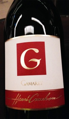 A Gamaret from the Henri Cruchon winery in Echichens, near Morges