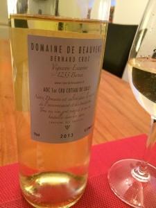 wine white Sauvignon Blanc Geneva Bernex Domaine du Beauvent Bernard Cruz2_040415