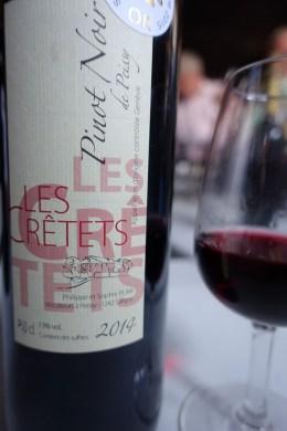 wine red Pinot Noir 2014 Les Crêtets Geneva_170615 copy