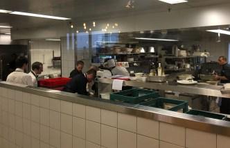Geneva airport restaurant Le Chef Benjamin Luzuy kitchen_160316