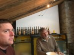 Temptation led me to a vertical tasting of Heida wines at the Chanton winery in Visp. A history through wine lesson, a treasure!