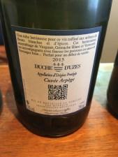 wine white blend Arpège Domaine Reynaud Uzés France_220916