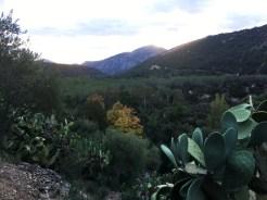 Sardinia Su Gologone landscape view
