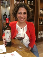 Sardinia wine red Cannonau Pro Vois_191016