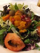 Barcelona lunch November salad_101117