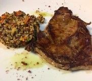 Barcelona lunch veal tbone_101117