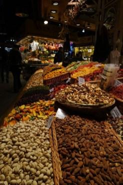 nuts La Rambla market Barcelona_101117