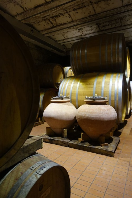 Aging is a more passive process than maturing, where the oak contributes more to a wine's aromas.