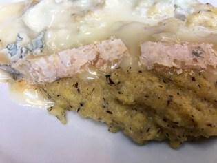 Garganzola polenta from Ticino