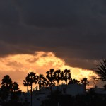 Andalusian shoreline, solstice moons: photo gallery