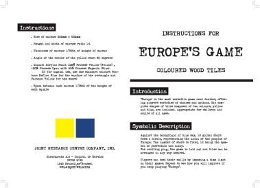 Europe instructions