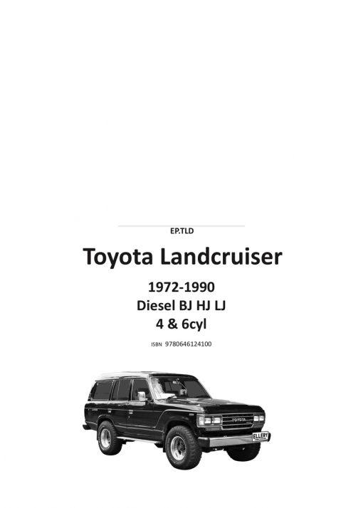 Toyota Landcruiser BJ HJ LJ Workshop Manual 1972-1990