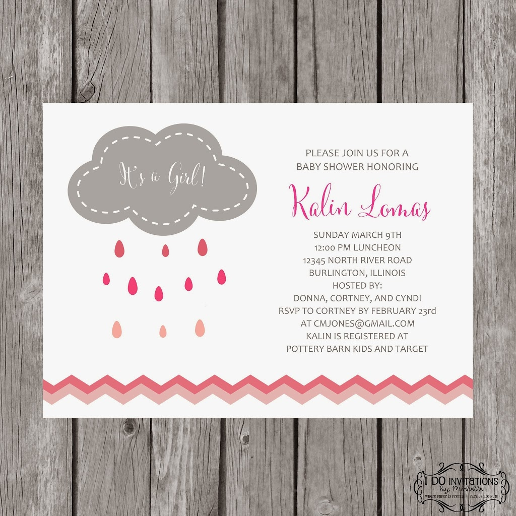 how much is a kitchen remodel sink with backsplash new rain cloud baby shower invitations – ellery designs