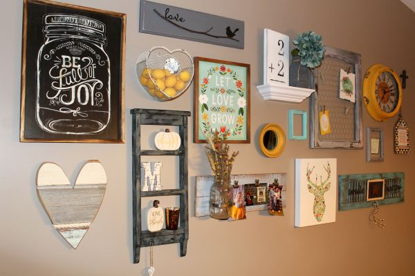 Rustic Glam Wall Ellery Design