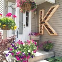 Diy Cedar Monogram Planter Box Ellery Design