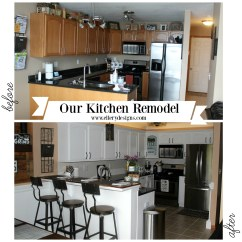 Kitchen Remodel How To Affordable Cabinets Our Diy The Full Reveal Ellery Designs Complete Makeover Ellerydesigns Com