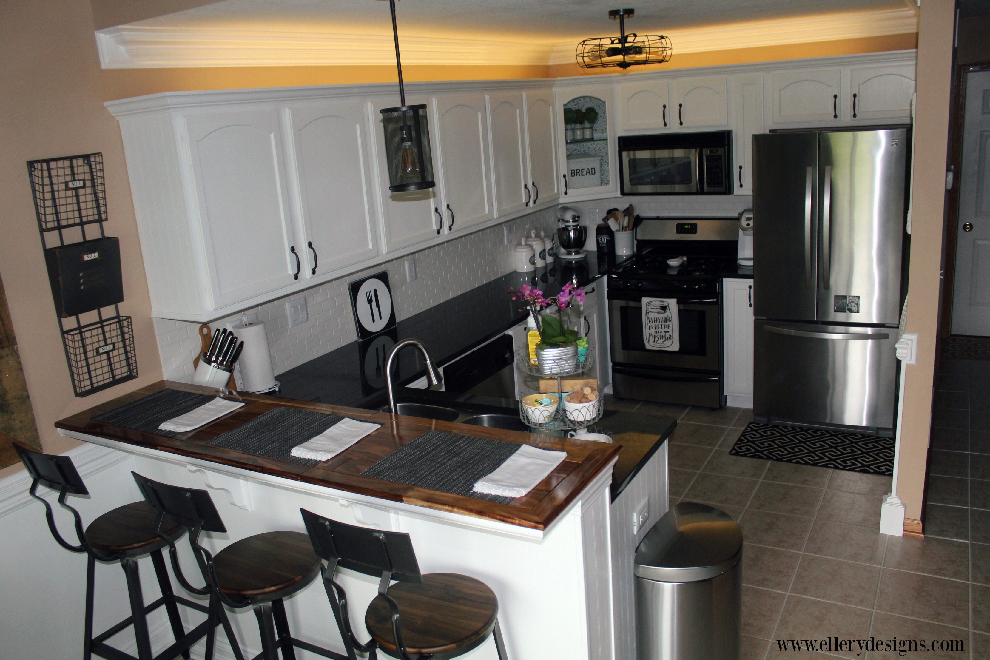 Our Diy Kitchen Remodel The Full Reveal Ellery Designs