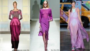 Radiant Orchid: Designer Collage