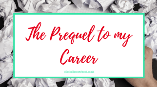 The Prequel to my Career | University