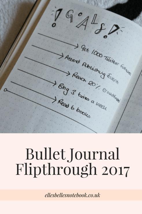 Bullet Journal Flipthrough Pinterest Image
