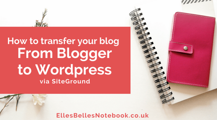 How to Transfer from Blogger to Wordpress