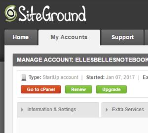 SiteGround 6