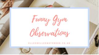 Funny Gym Observations