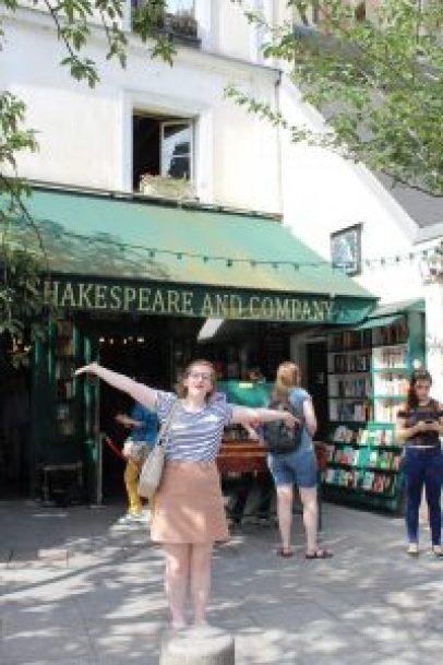 Shakespeare & Co Bookshop, Paris 2017