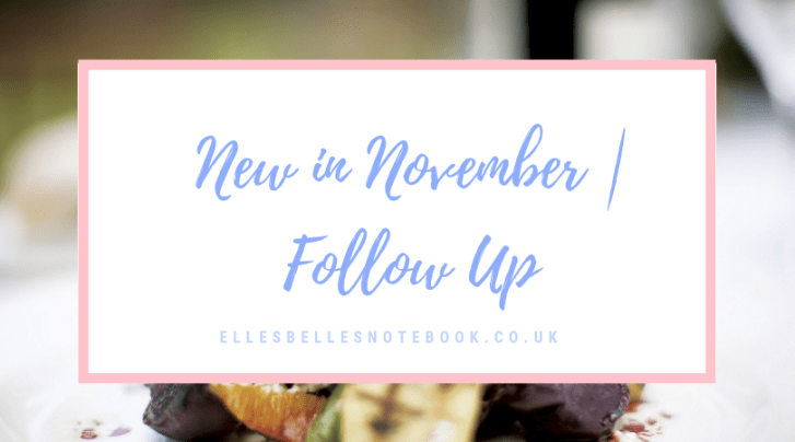 new in november follow up