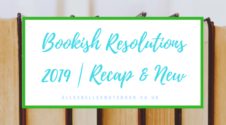 Bookish Resolutions 2019