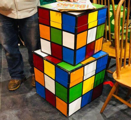 Hackney Flea Market Rubix Cube