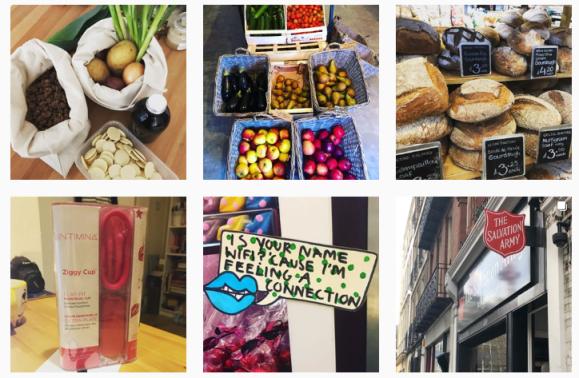 Instagram EllesBellesNotebook zero waste