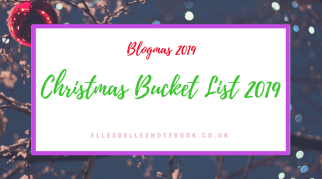 Christmas Bucket List 2019
