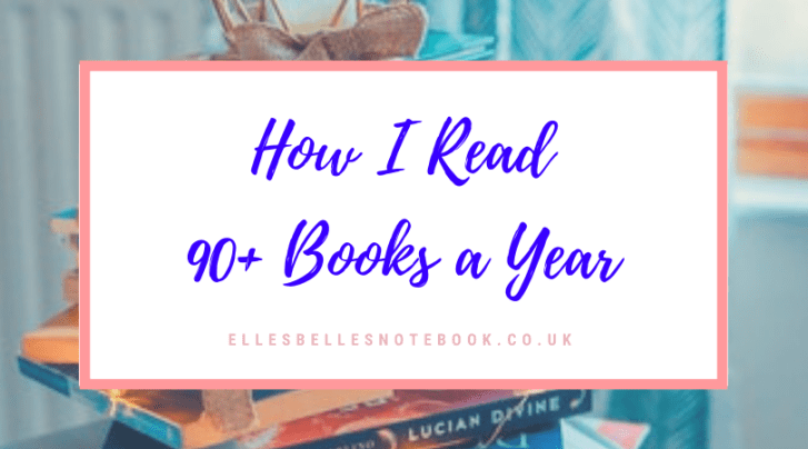 How I Read 90+ Books a Year
