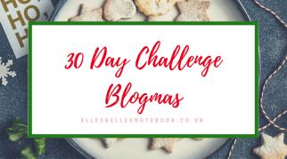 30 Day Challenge | Blogmas