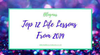 Top 12 Life Lessons From 2019