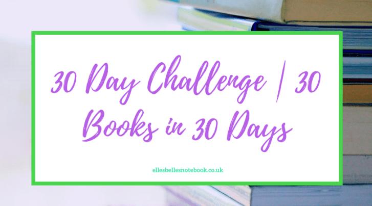 30 Books in 30 Days