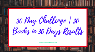 30 Day Challenge   30 Books in 30 Days Results