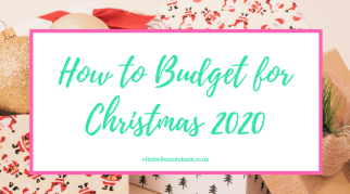 How to Budget for Christmas 2020