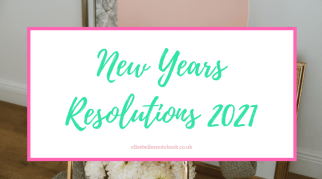 New Years Resolutions 2021
