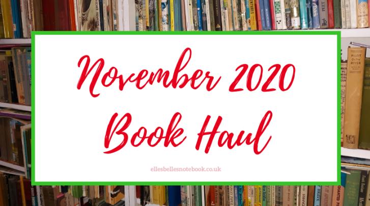 November 2020 Book Haul