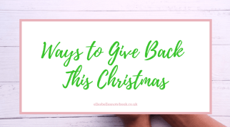 Ways to Give Back This Christmas