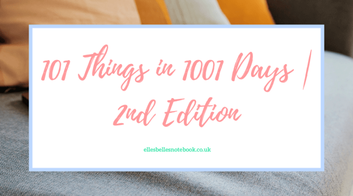 101 Things in 1001 Days | 2nd Edition
