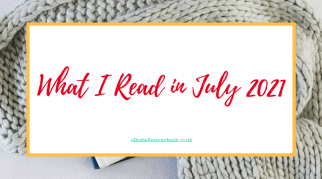 What I Read in July 2021