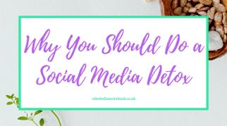 Why You Should Do a Social Media Detox